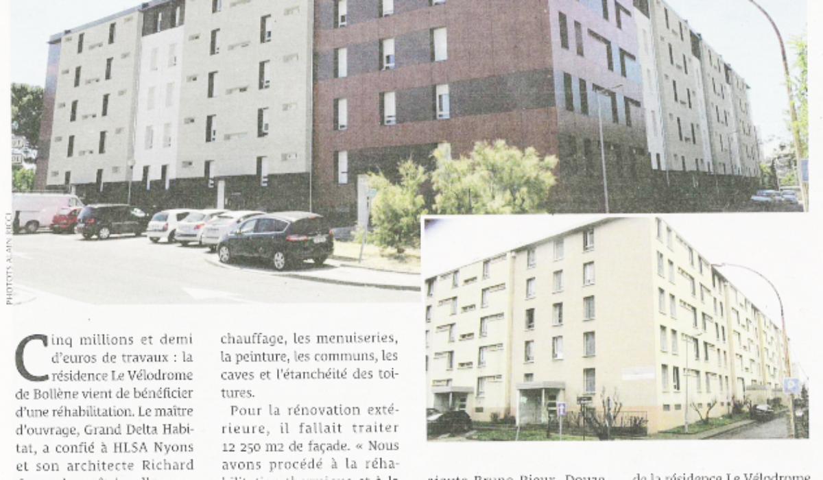 TPBM : Le Vélodrome à Bollène enfin réhabilité